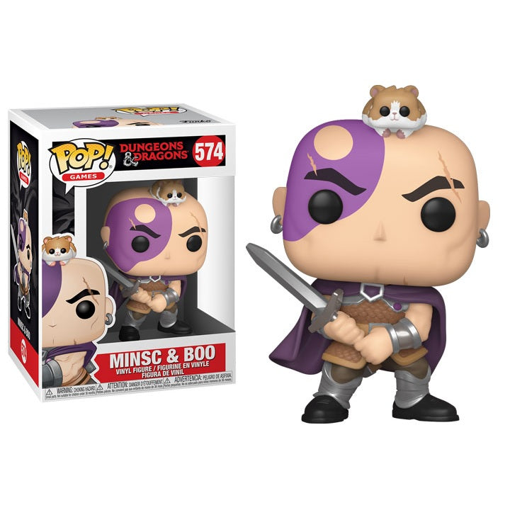 Dungeons and Dragons Pop! Vinyl Figure Minsc and Boo [574]