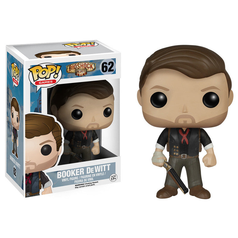 Bioshock: Infinite Pop! Vinyl Figure Booker DeWitt - Fugitive Toys