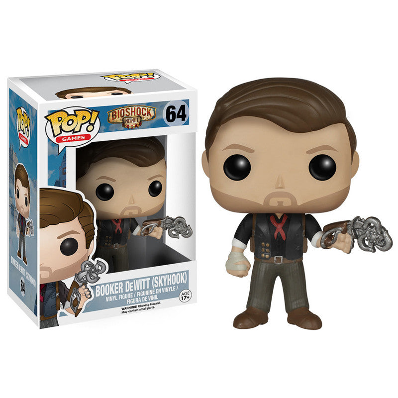 Bioshock: Infinite Pop! Vinyl Figure Booker DeWitt with Skyhook - Fugitive Toys