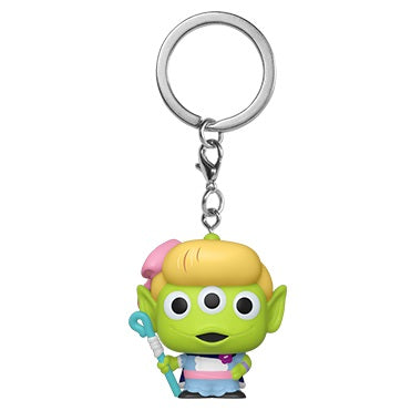 Disney Pixar Pocket Pop! Keychain Alien Remix Bo Peep