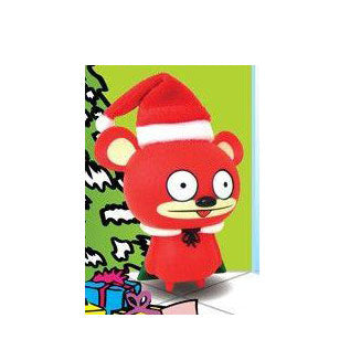 Bossy Bear Red (X-Mas Tongue Out Version)