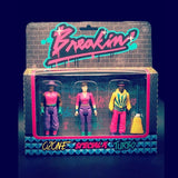 Super7 Breakin ReAction Figures 3-pack [2019 SDCC Exclusive] - Fugitive Toys