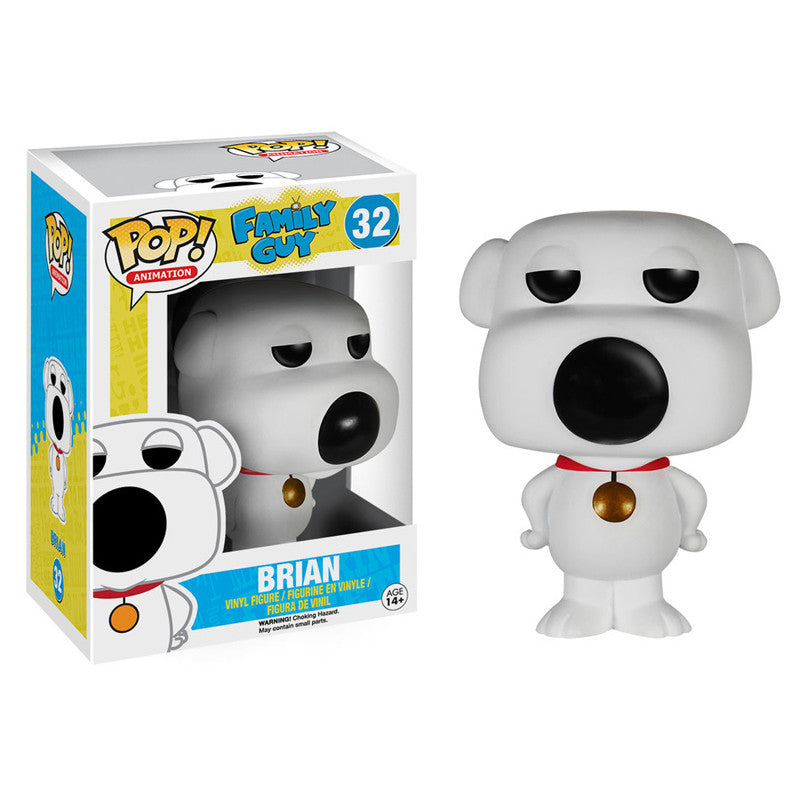 Family Guy Pop! Vinyl Figure Brian Griffin - Fugitive Toys