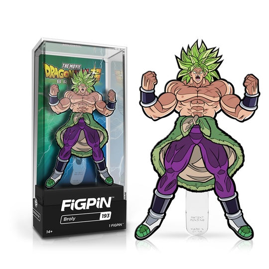 Dragon Ball Super: Broly FiGPiN Enamel Pin Broly [193] - Fugitive Toys