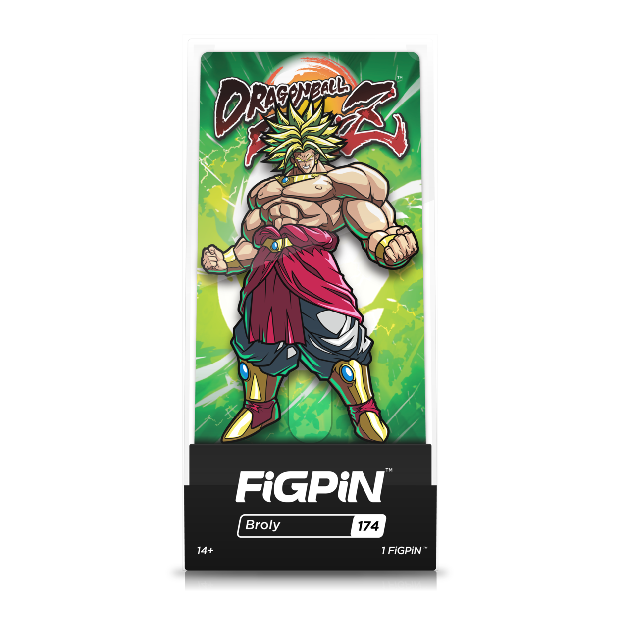 Dragon Ball FighterZ: FiGPiN Enamel Pin Broly [174]