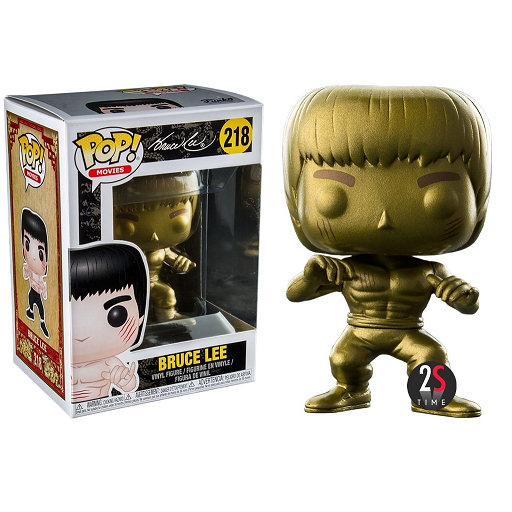 Enter The Dragon Pop! Vinyl Figures Gold Bruce Lee [219]