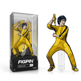 Bruce Lee: FiGPiN Enamel Pin Bruce Lee (Yellow Suit) [371] - Fugitive Toys