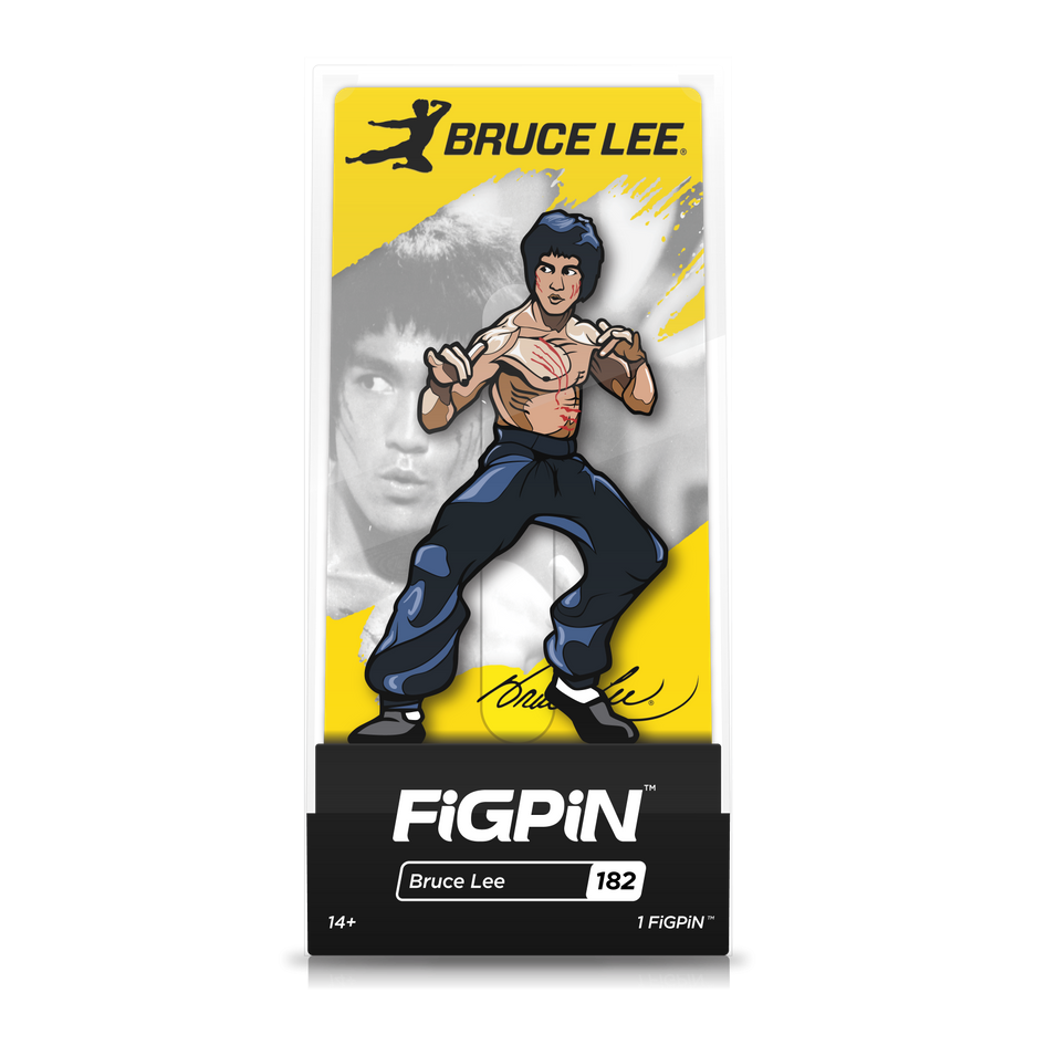 Bruce Lee: FiGPiN Enamel Pin Bruce Lee [182]