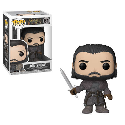 Game of Thrones Pop! Vinyl Figure Jon Snow Beyond the Wall [61] - Fugitive Toys