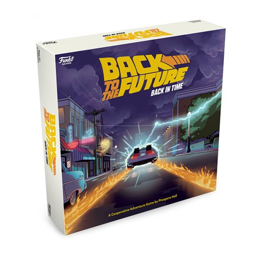Funko Back to the Future - Back in Time Strategy Game