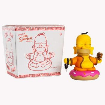 Kidrobot x The Simpsons Homer Buddha 7-Inch Figure