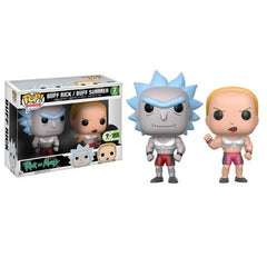 Pop! Animation: Rick & Morty - Buff Rick & Summer 2-pack [ECCC Exclusive]