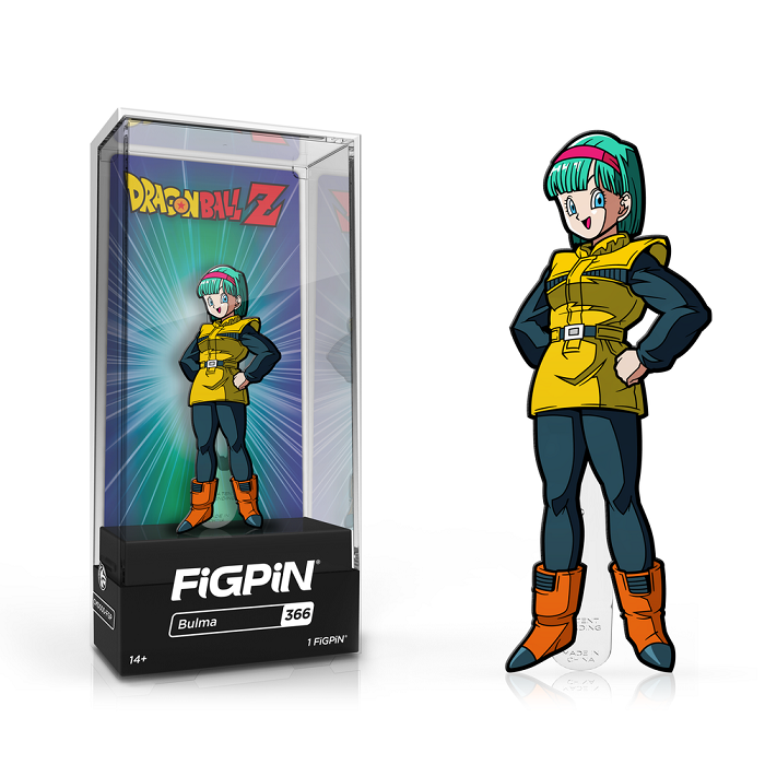 Dragon Ball Z: FiGPiN Enamel Pin Bulma [366] - Fugitive Toys
