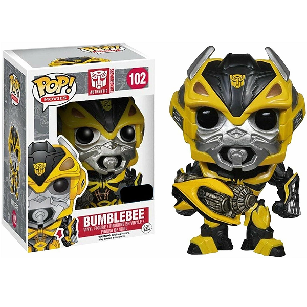 Transformers Pop! Vinyl Figure Bumblebee With Cannon [Exclusive] [102]