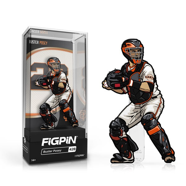 MLB San Francisco Giants FiGPiN Enamel Pin Buster Posey [428]
