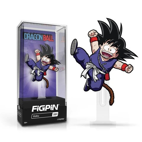 Dragon Ball: FiGPiN Enamel Pin Goku Action [551]