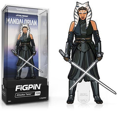 Star Wars The Mandalorian: FiGPiN Enamel Pin Ahsoka Tano [735] - Fugitive Toys