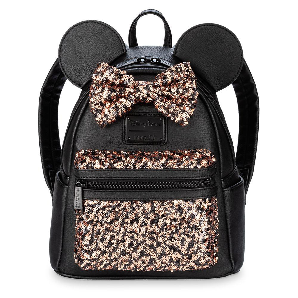 Loungefly x Disney Parks Belle of the Bronze Mini Backpack