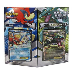 Pokemon Trading Card Game Battle Arena Decks Keldeo vs. Rayquaza
