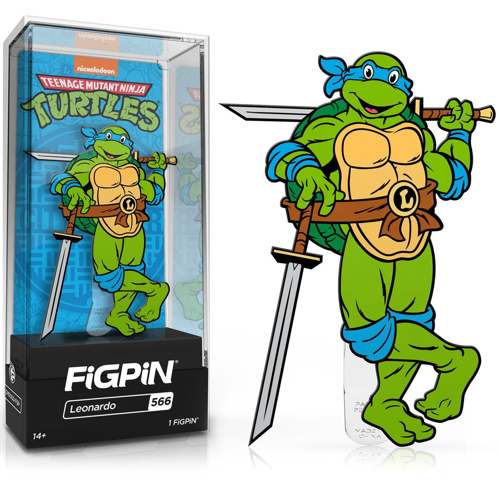Teenage Mutant Ninja Turtles: FiGPiN Enamel Pin Leonardo [566]