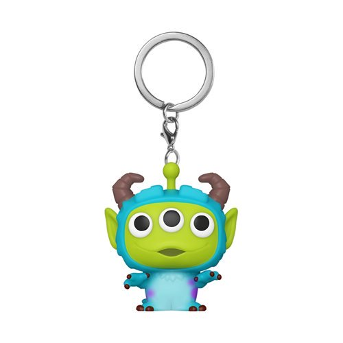 Disney Pixar Pocket Pop! Keychain Alien Remix Sulley - Fugitive Toys