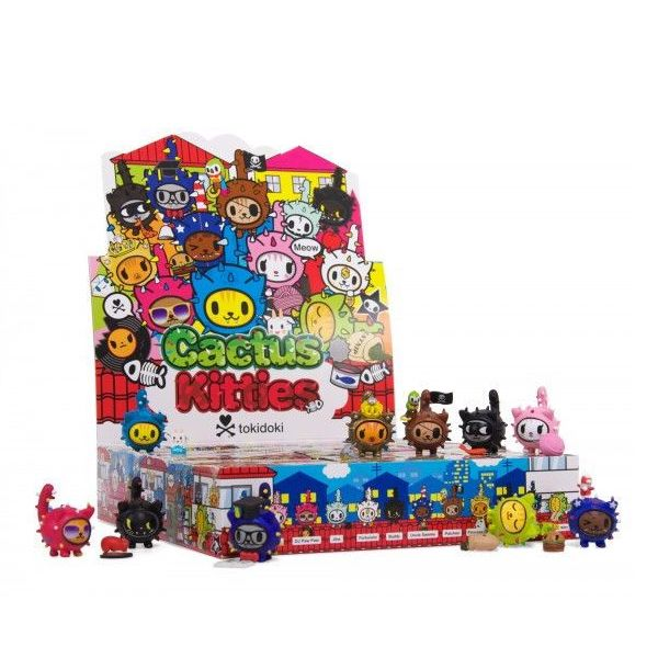 Tokidoki Cactus Kitties: (Case of 30)