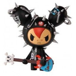Tokidoki Cactus Rocker Vinyl Figure (Red Hair) - Fugitive Toys