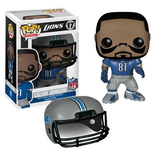 NFL Pop! Vinyl Figure Calvin Johnson [Detroit Lions]