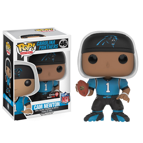 NFL Pop! Vinyl Figure Cam Newton (Throwback) [Carolina Panthers] [46] - Fugitive Toys