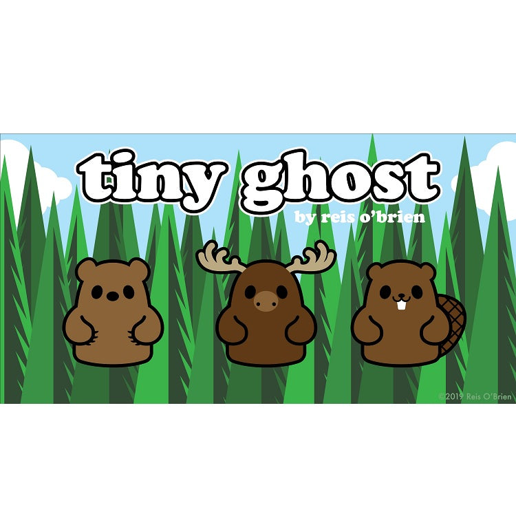 Bimtoy Tiny Ghost Pins [Canadian Critters] [Toronto Fan Expo 2019]