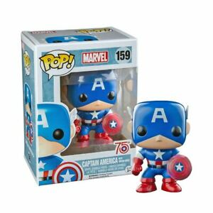 Marvel Pop! Vinyl Figures Captain America with Photon Shield [159]
