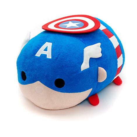 Disney Marvel Captain America Tsum Tsum Medium Plush