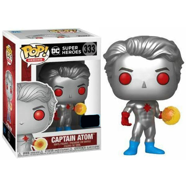 DC Super Heroes Pop! Vinyl Figure Captain Atom [333]