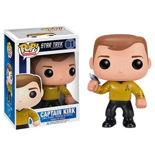 Star Trek Pop! Vinyl Figure Captain Kirk - Fugitive Toys