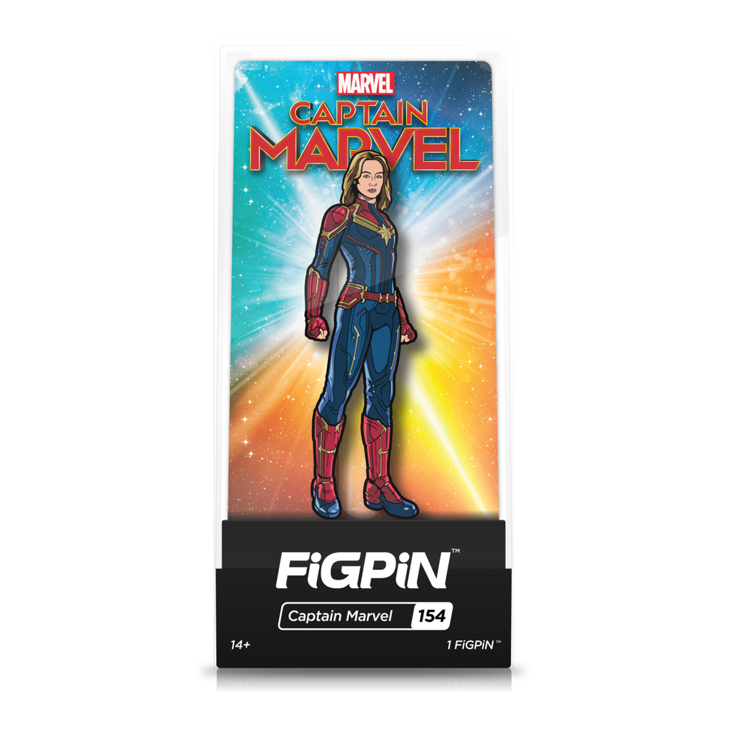 Captain Marvel: FiGPiN Enamel Pin Captain Marvel [154]