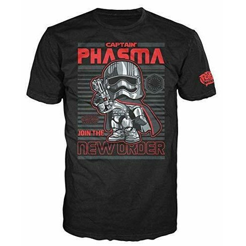 Pop! Tees Star Wars Captain Phasma [55] Large