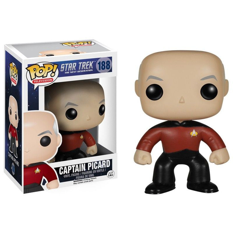 Star Trek The Next Generation Pop! Vinyl Figure Captain Picard