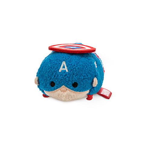 Disney Marvel Captain America Tsum Tsum Mini Plush - Fugitive Toys