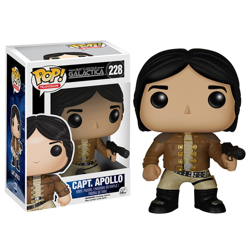 Battlestar Galactica Pop! Vinyl Figure Captain Apollo