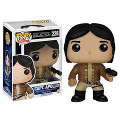 Battlestar Galactica Pop! Vinyl Figure Captain Apollo - Fugitive Toys