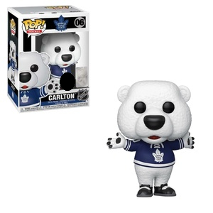 NHL Pop! Vinyl Figure Carlton (Toronto Maple Leafs) [06]