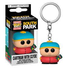 South Park Pocket Pop! Keychain Cartman with Clyde