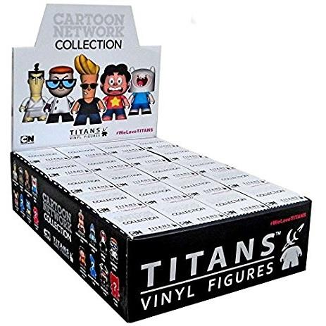 Titans Cartoon Network Collection: (Case of 20) - Fugitive Toys