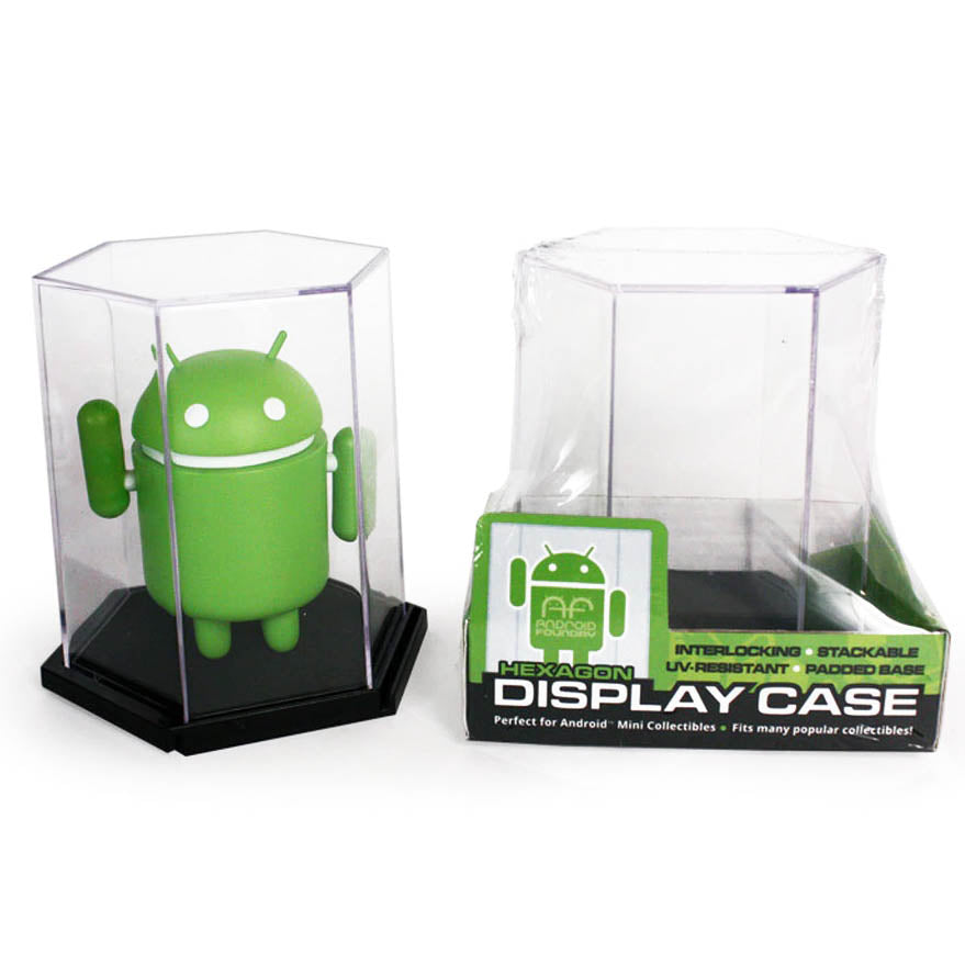Android Foundry Display Cases - Hexagonal - 1 Piece