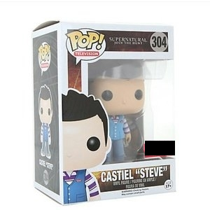 "Supernatural Pop! Vinyl Figure Castiel ""Steve"" [304] - Fugitive Toys"