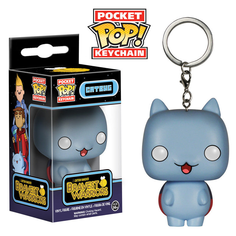 Cartoon Hangover Bravest Warriors Pocket Pop! Keychain Catbug