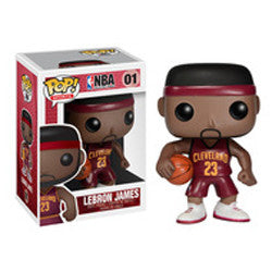 NBA Pop! Vinyl Figure LeBron James (Red) [Cleveland Cavaliers] [ERROR] [01]