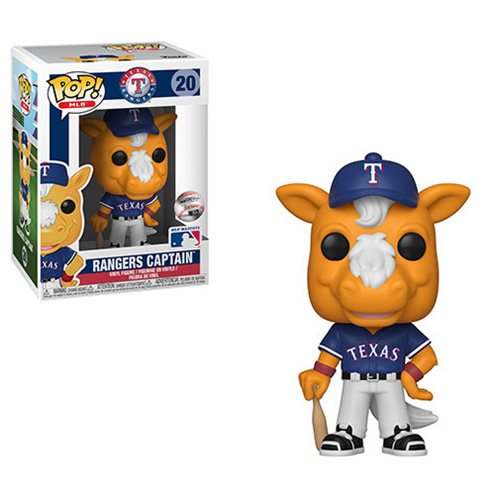 MLB Mascots Pop! Vinyl Figure Ranger's Captain [Texas Rangers] [20]