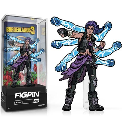 Borderlands 3: FiGPiN Enamel Pin Amara [255]
