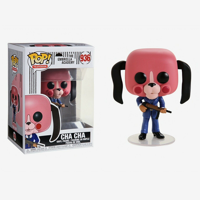 The Umbrella Academy Pop! Vinyl Figure Cha Cha [936]